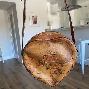 Alvieri Martini heart shaped purse